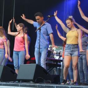 Dance performance @ Lommel Leeft